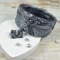biżuteria z ważką srebrna
