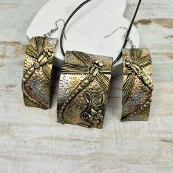 biżuteria z ważką złota
